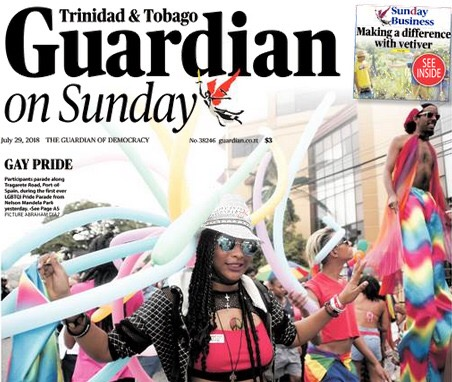 History Made with T&T's First Pride Parade – QueerTT